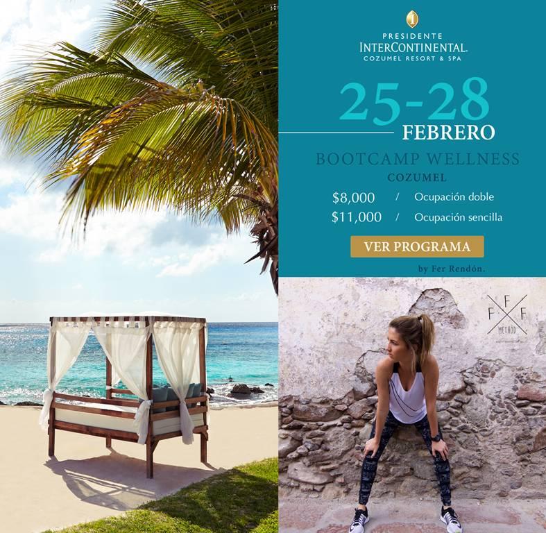"""Este es el primer fin de semana """"wellness"""" que formara parte del Programa de Bienestar que estaré implementando de los Hoteles Presidente Intercontinental,"""