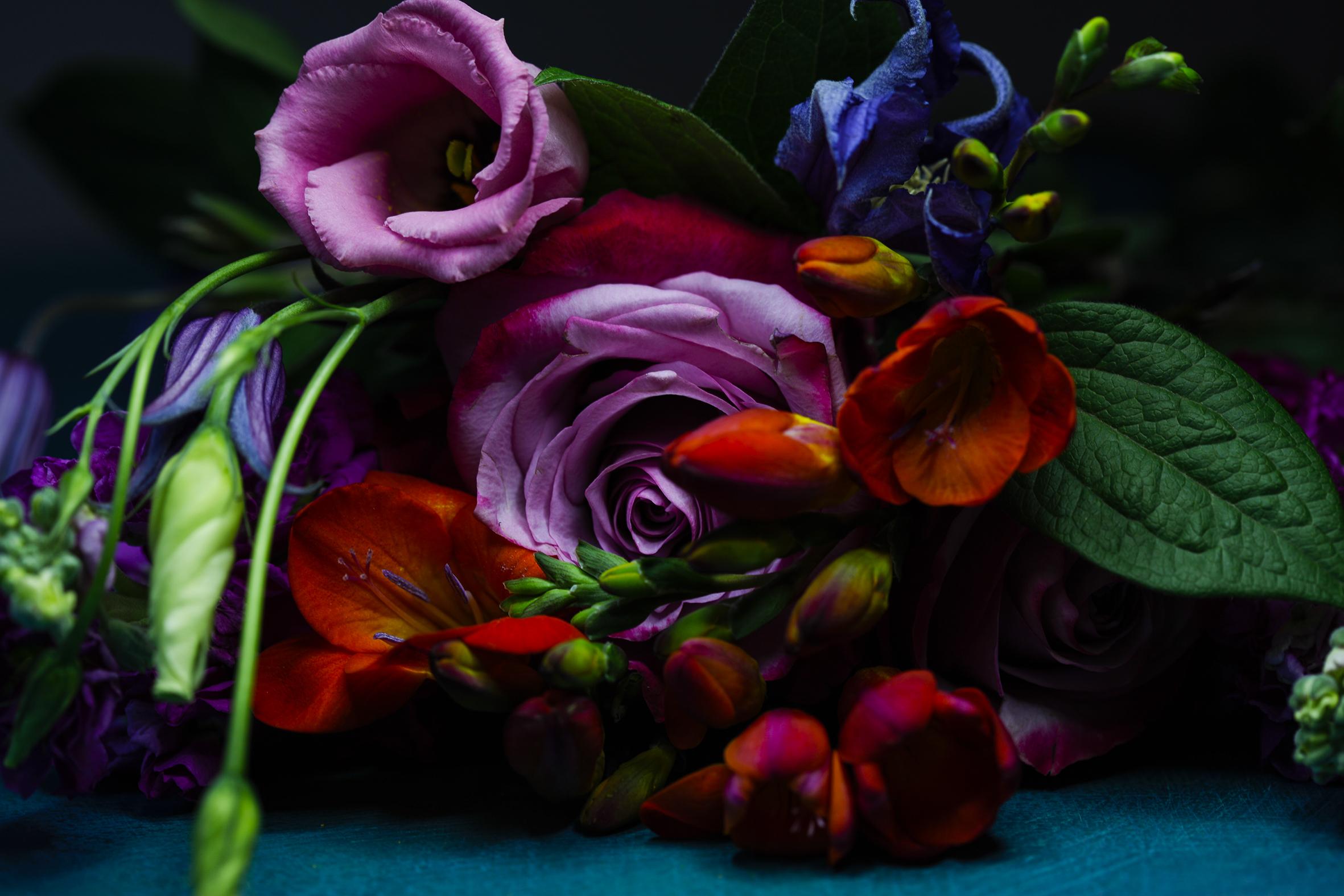 D&G inspired flowers