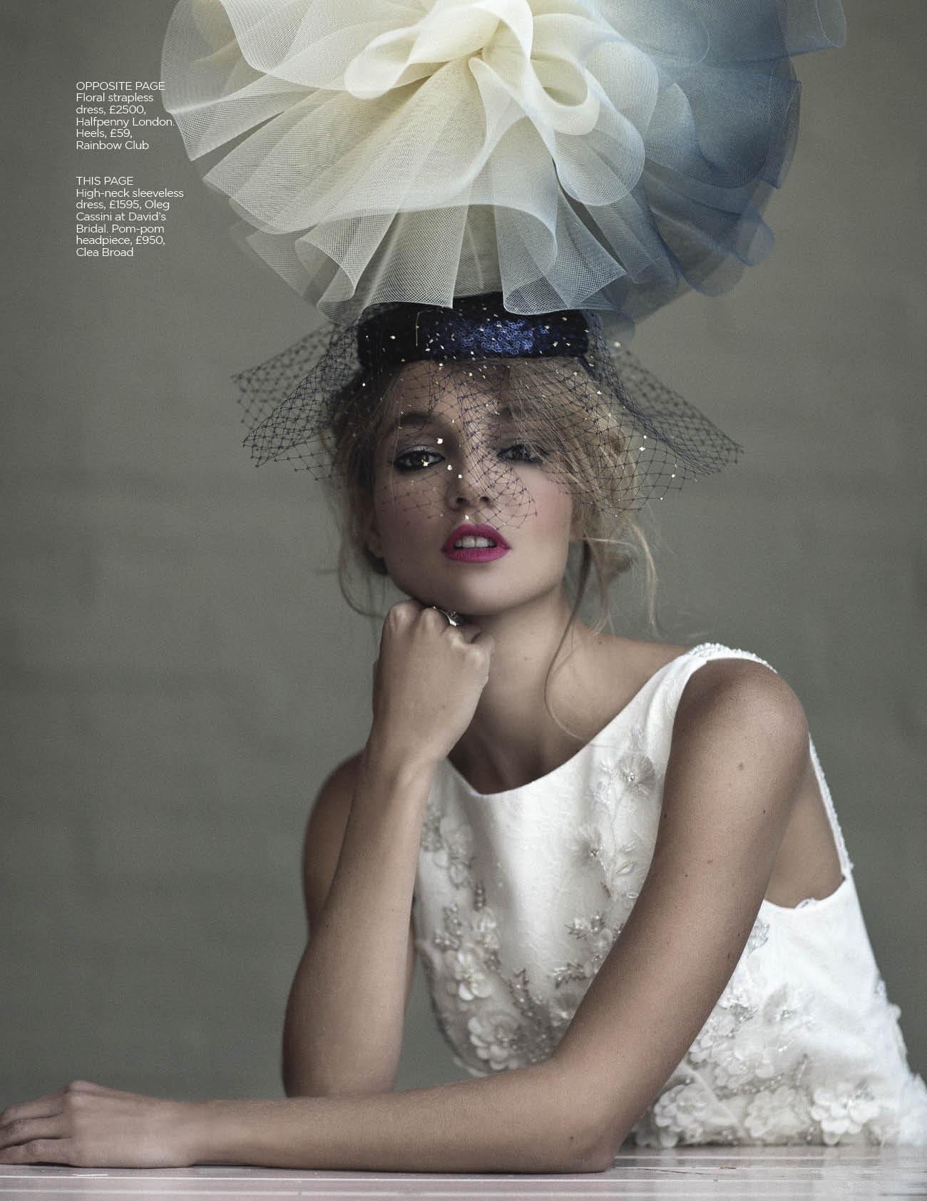 Luna headpiece