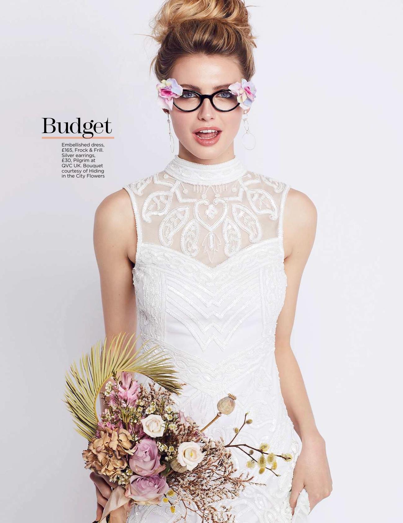 Floral fashion glasses