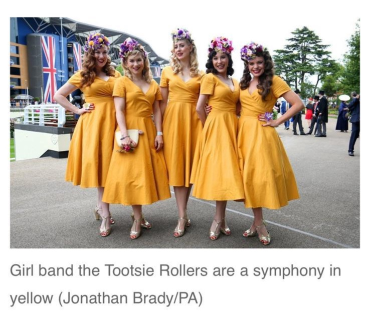 The Tootsie Rollers at Royal Ascot