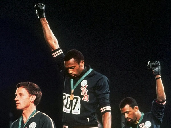 Tommy Smith and John Carlos, 1968 Olympics