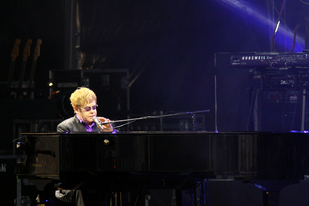 Elton John. Saw him in Vegas last October, what can you say about this amazing singer songwriter?