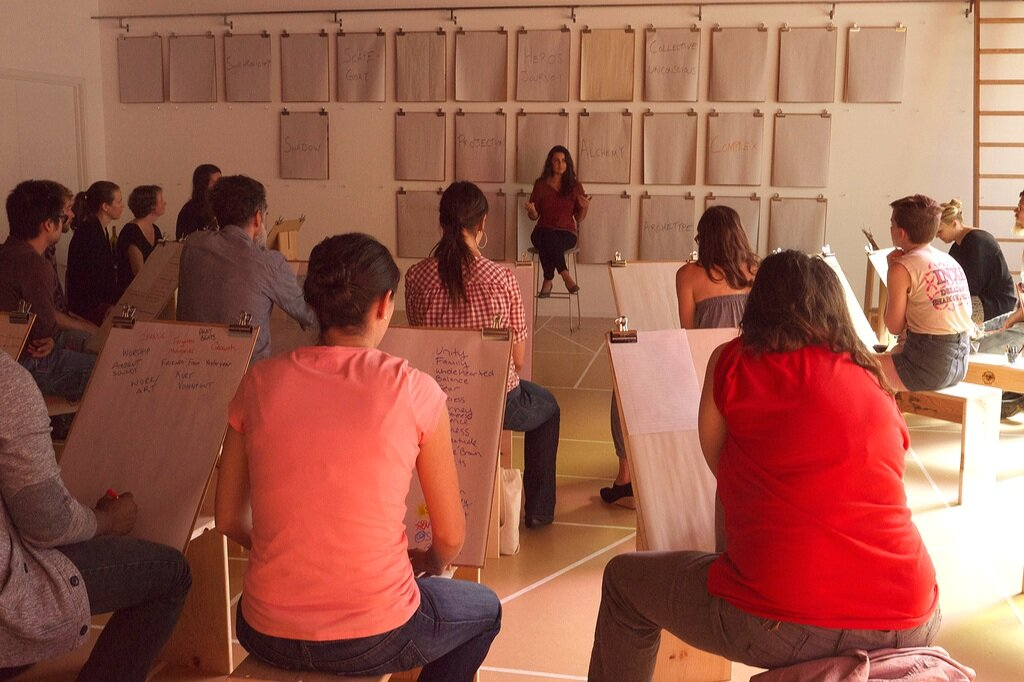 """Workshop on """"The Language of the Unconscious"""" PICA, 2013"""