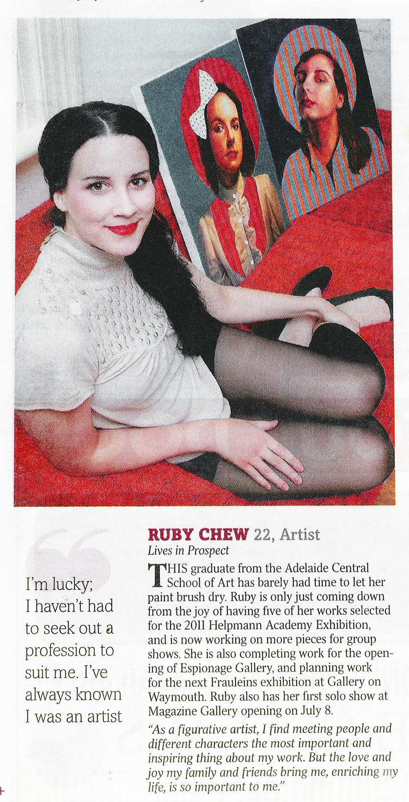 Walsh L, Seven Stars, Sunday Mail, Jan 30, 2011