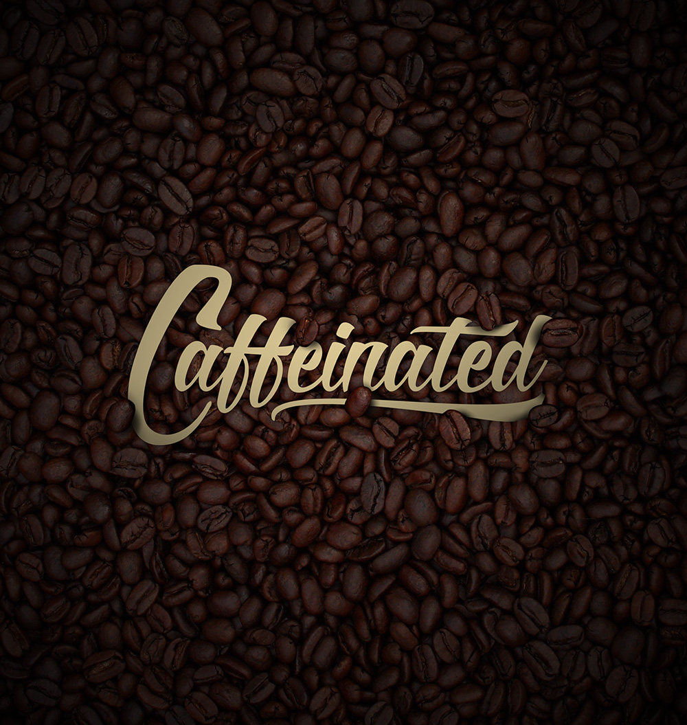 CAFFEINATED . BRANDING, ADVERTISING, MOVIE POSTER