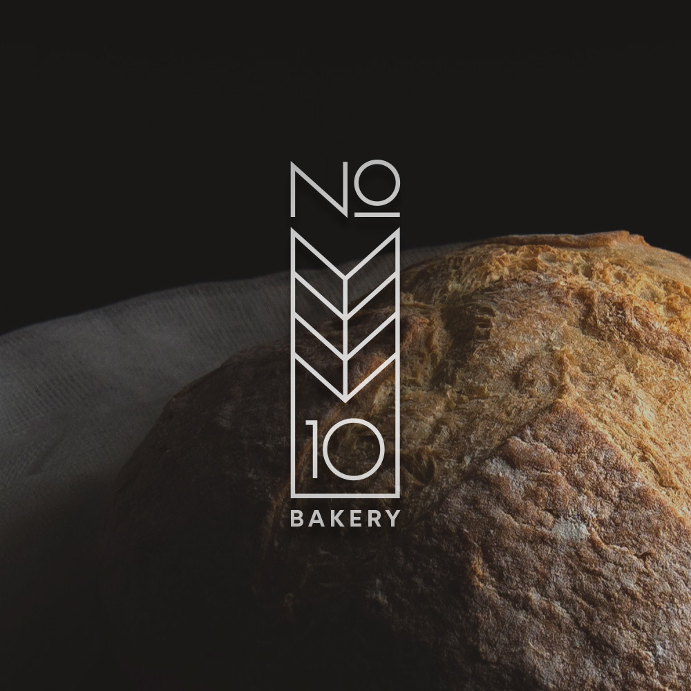 NO 10 BAKERY . BRANDING, PACKAGING, ADVERTISING, WEBSITE DESIGN