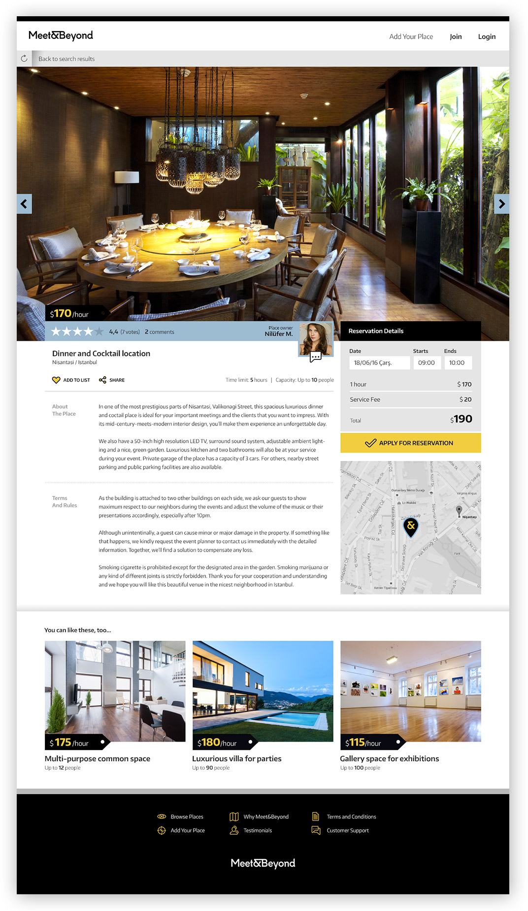 Meet-and-Beyond-Website-Venue-Page-Design