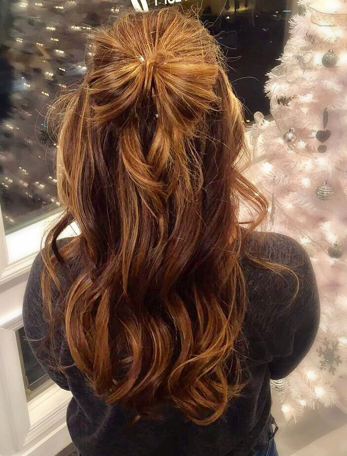 A pretty hair bow is the perfect finishing touch | Styled by Stephanie