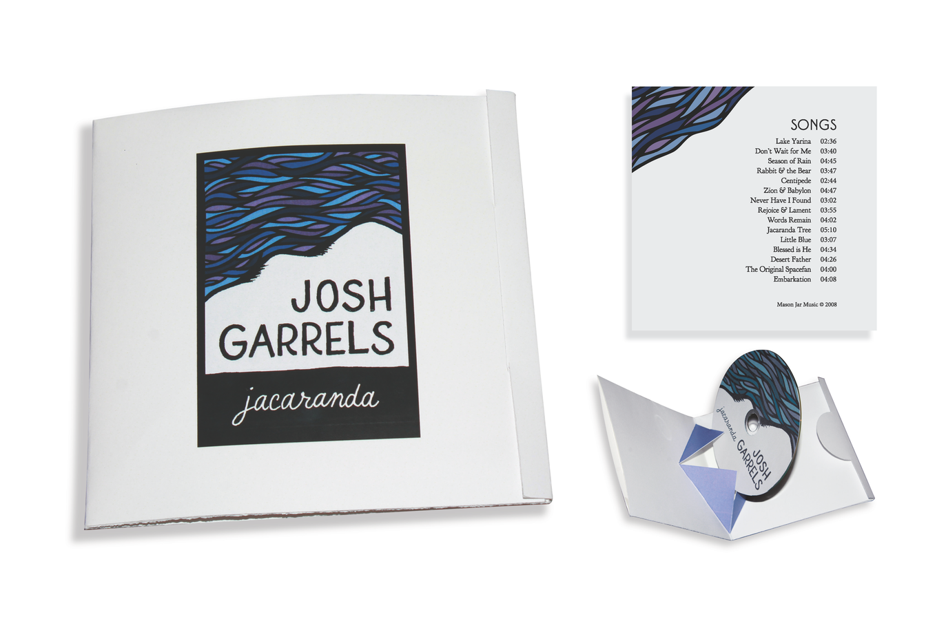 Packaging for a favorite musician's CD for a self-directed project.