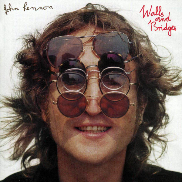 """JOHN LENNON - WALLS AND BRIDGES ALBUM - LINER NOTES READ : Engineer: Shelly """"I can't take the pressure"""" Yakus"""