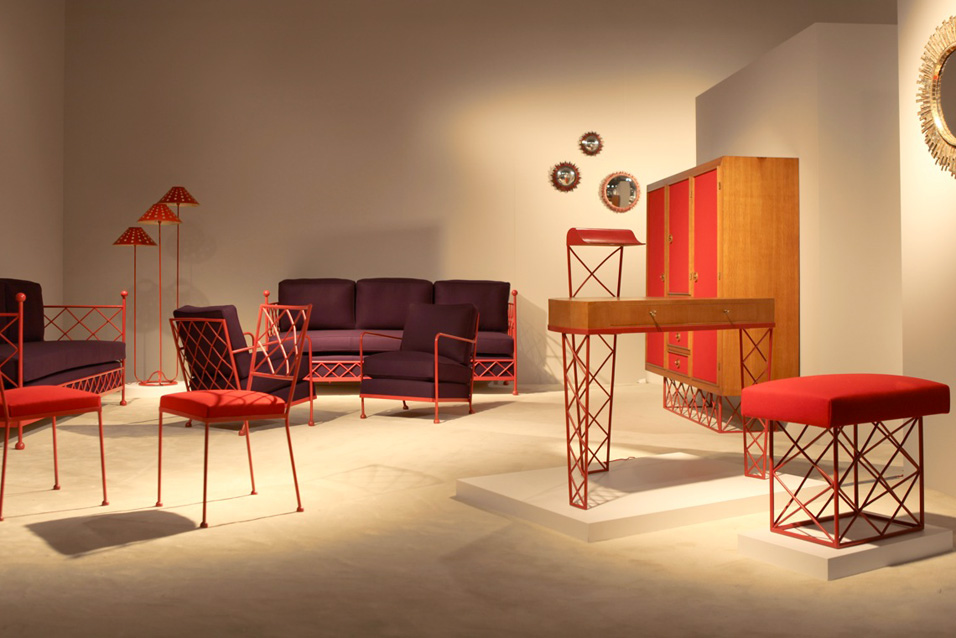 Jean Royére Furniture at Galerie Chastel-Maréchal
