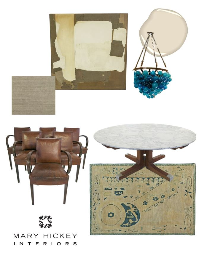 Mary Hickey Interiors Moodboard