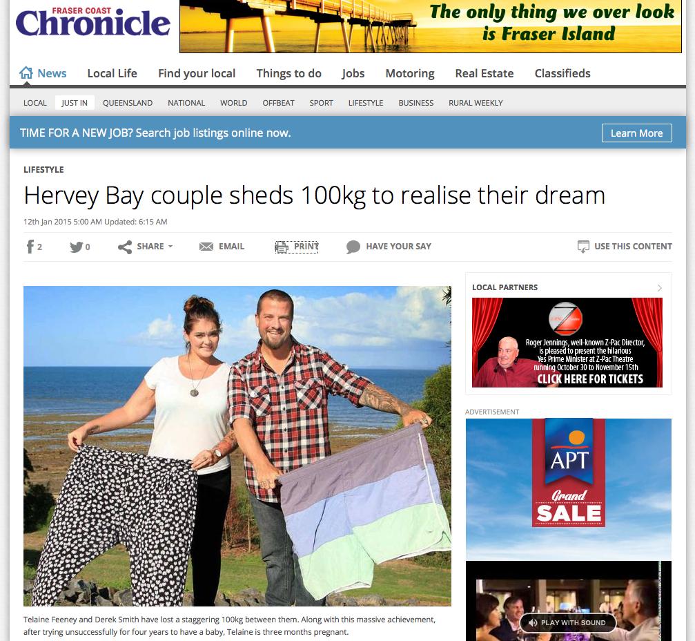January 12th, 2015 - Fraser Coast Chronicle