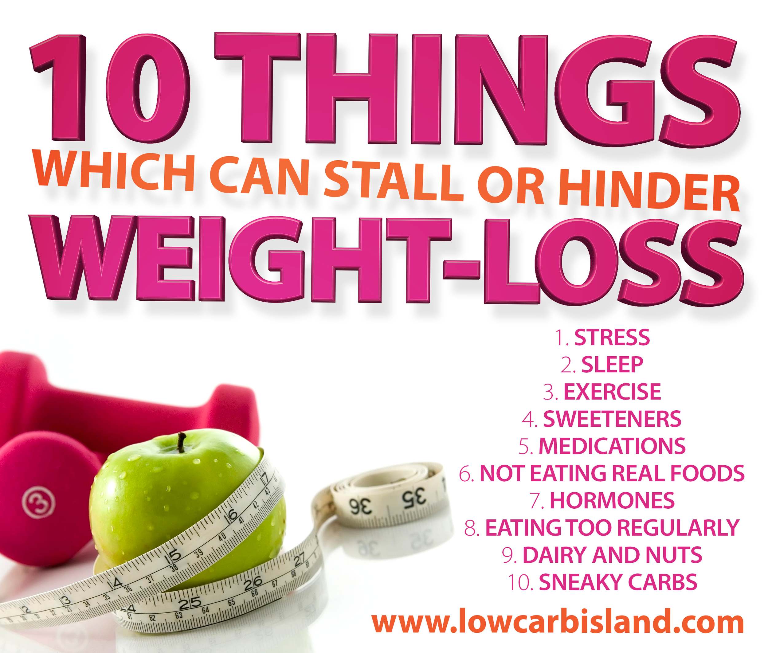 10 things that can stop weight loss