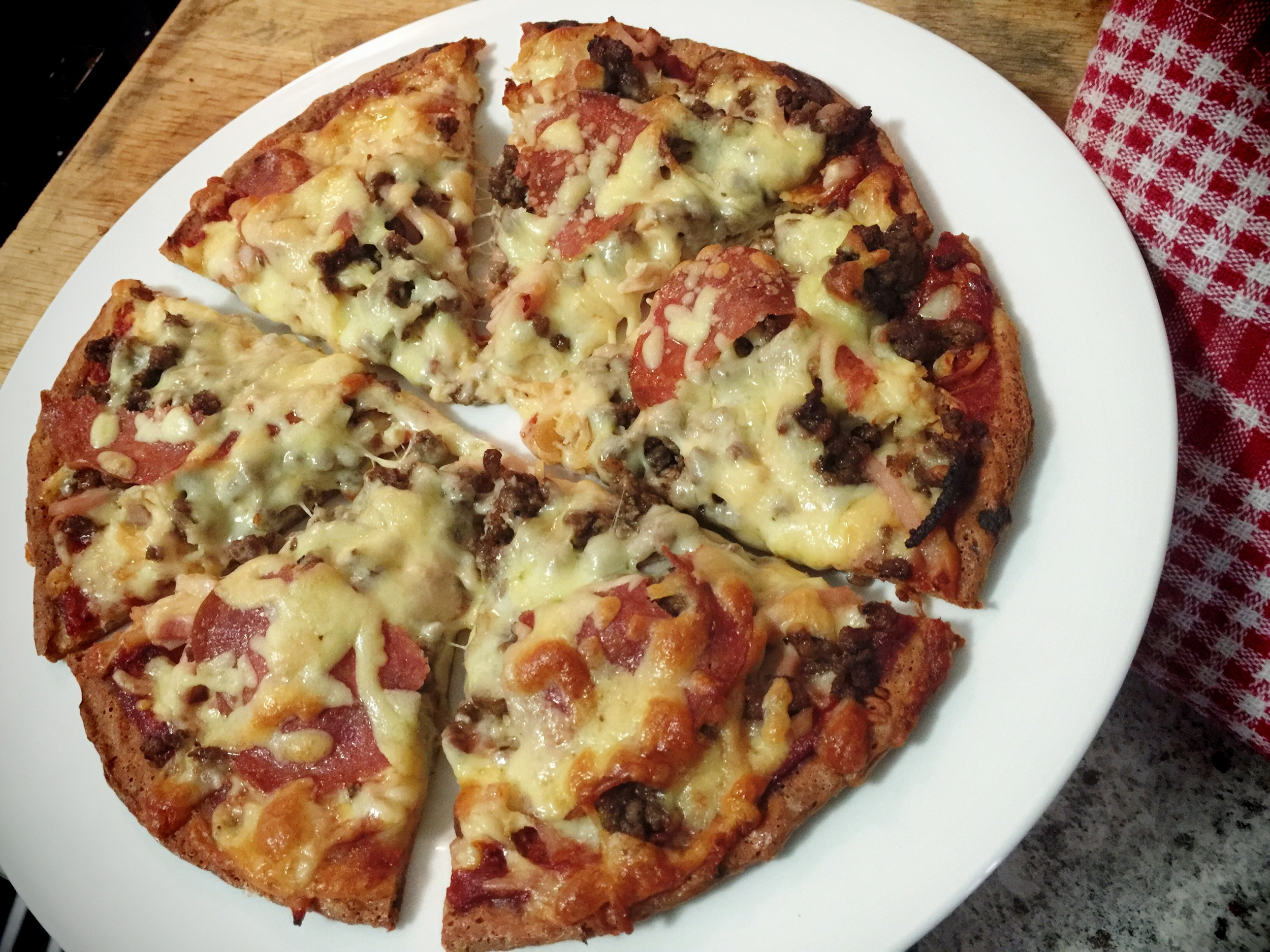 Fat Head Pizza - Low Carb Island Style