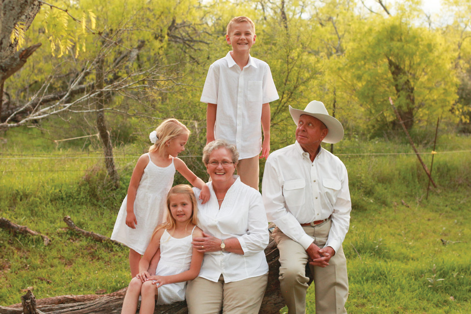 Family photography with grandparents