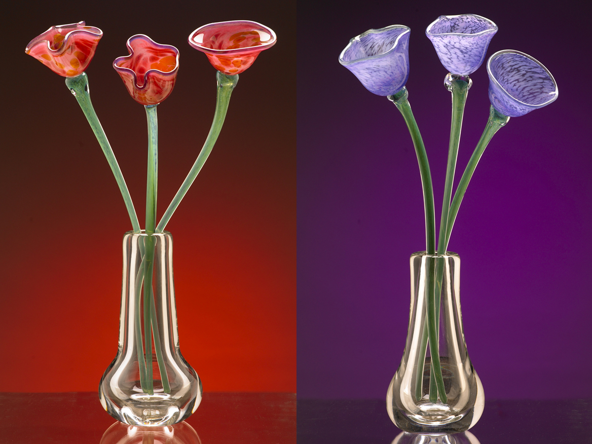 glass vase and flower carlsbad studio.jpg