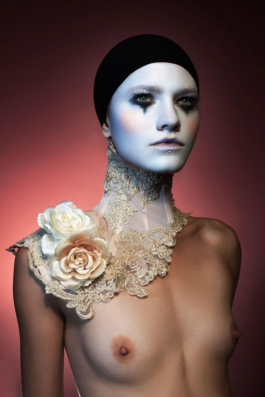 Model: Wenchi. Makeup: Hannah Concannon.Wardrobe: Mother of London. Post-production: Marina Dean Francis.