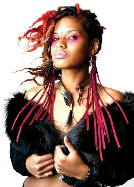 Venus in Furs. Model, makeup, wardrobe and jewelry: Nyx Blalock / Asha Beta.