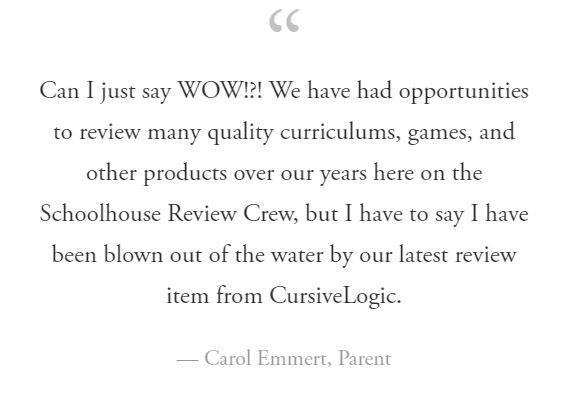Carol Emmert, Review Crew Blogger