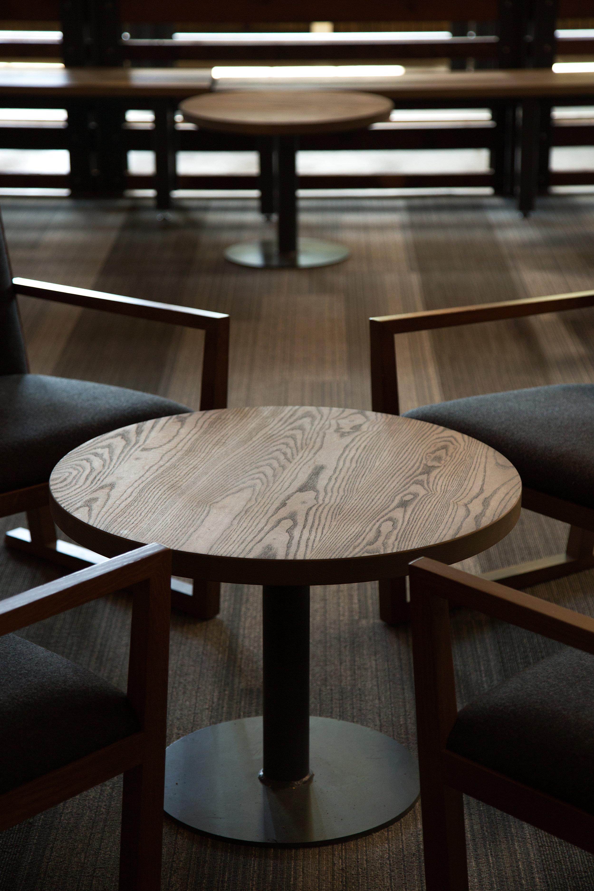 Ash wood coffee table top