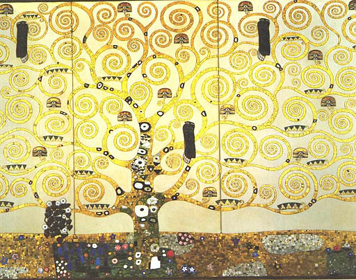 "Gustav Klimt, ""Tree of Life"""