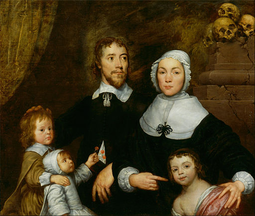 William Dobson - Portrait of a Family