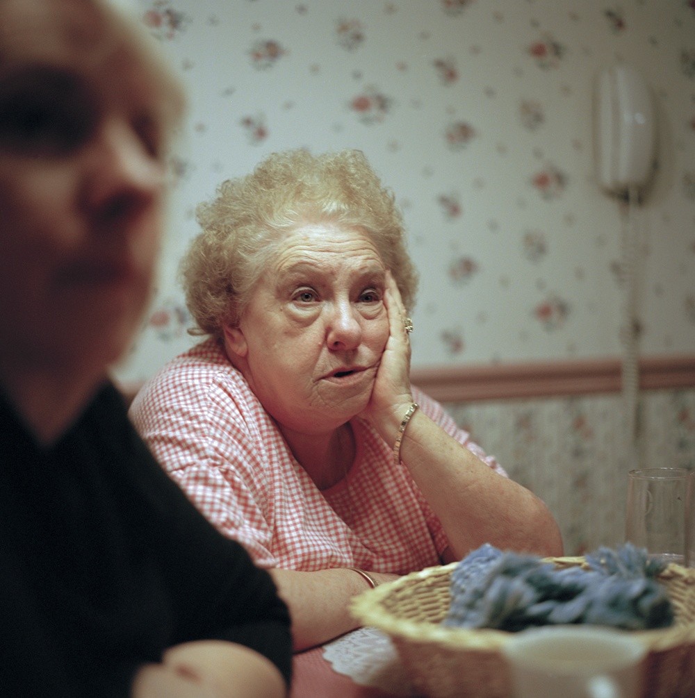 Sunday dinner at Grandma's, Sherwood Forest, Cincinnati, Ohio 2004