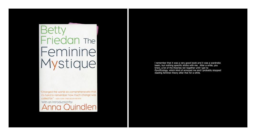 The Feminine Mystique 2001  2009