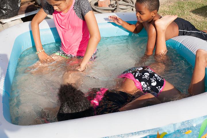 Backyard pool, Los Angeles  2014