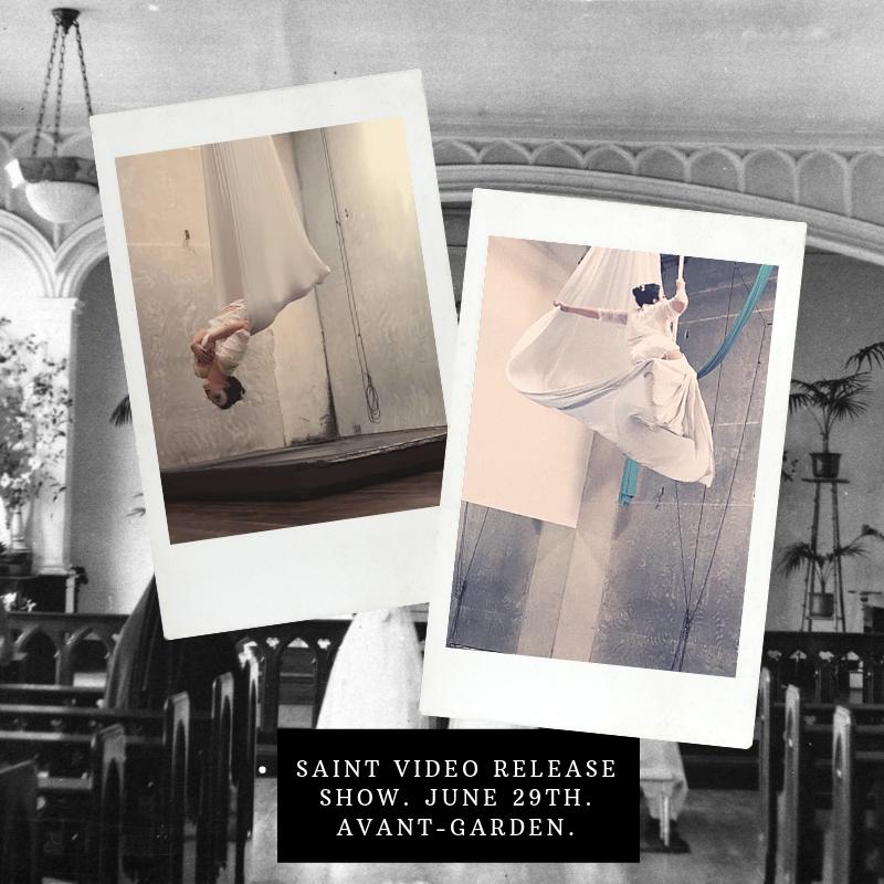 Saint video release party. June 29th. Avant-Garden..png