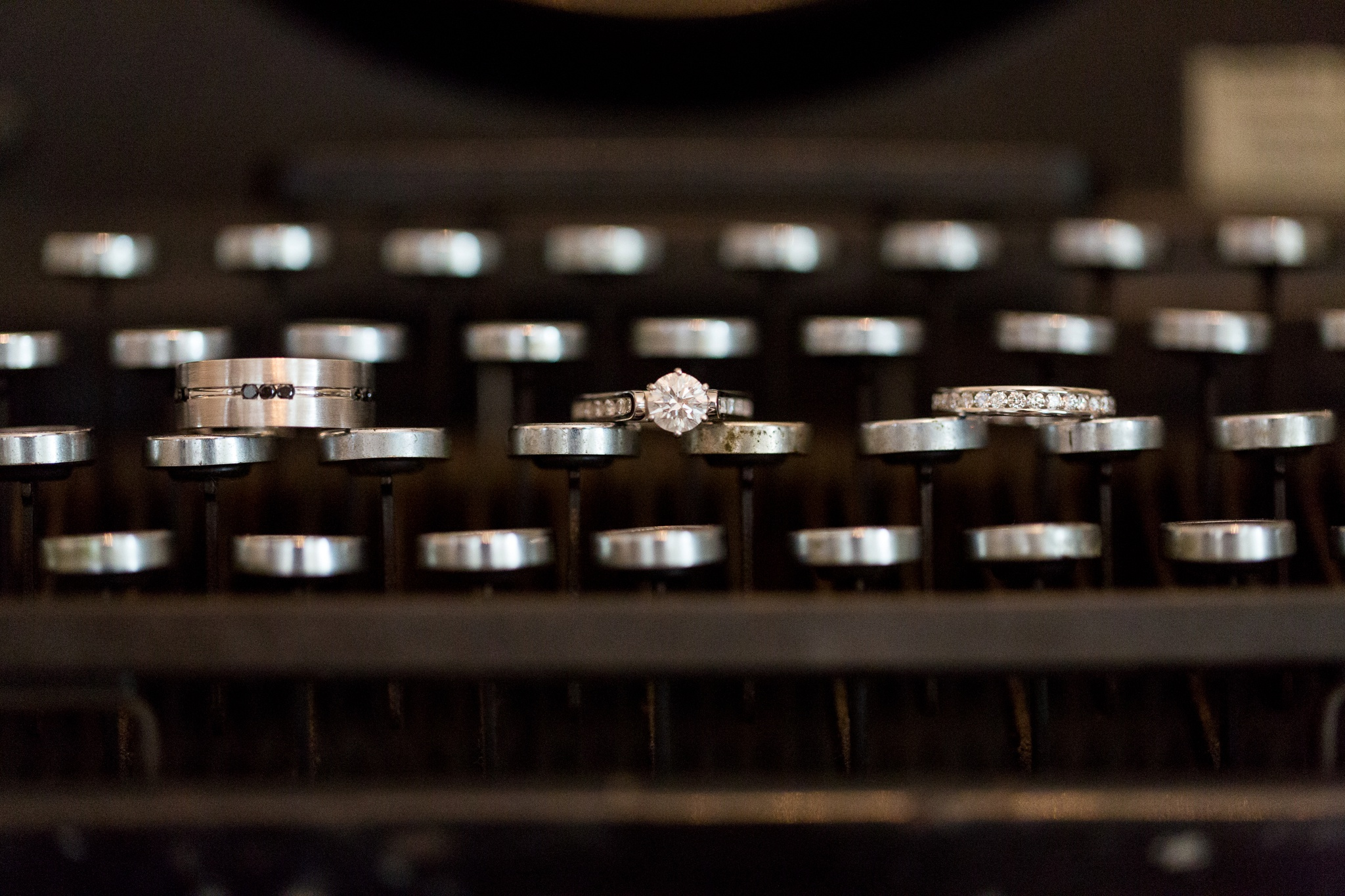 typewriter-wedding-ring-shot