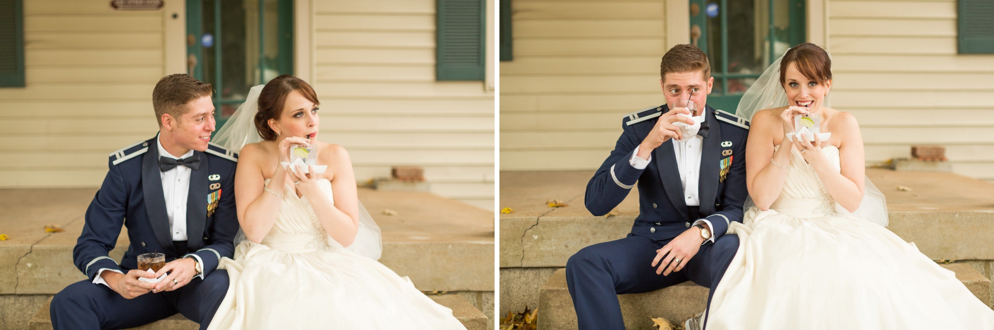 bride-and-groom-drinks-wedding
