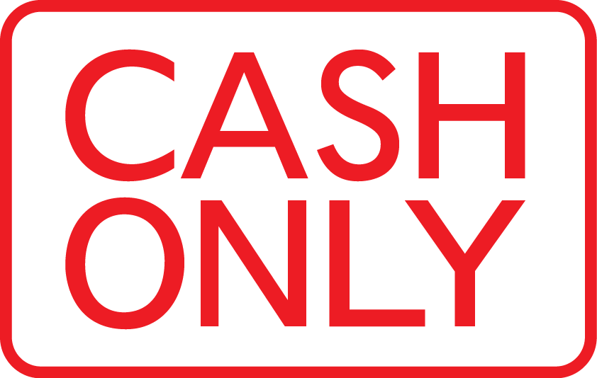 betala kontant