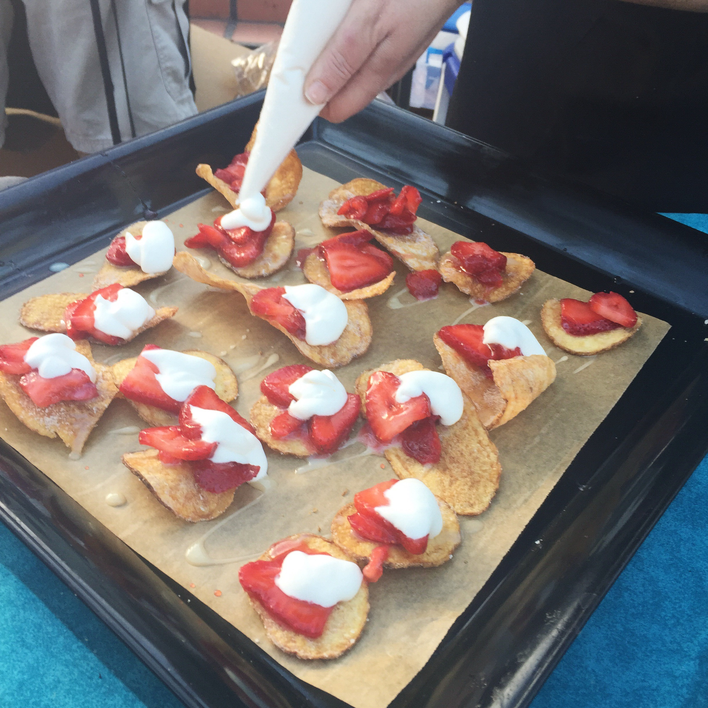The most amazing dessert chips from Chipwrecked (Pismo Beach)