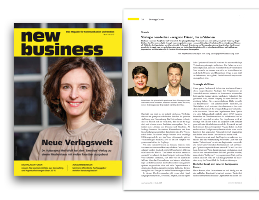 Erschienen: new business Ausgabe 06/2017