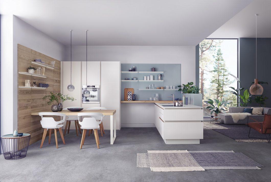 Вечная элегантность, уютное тепло и совершенство мастерства характеризуют новую программу LEICHT Solid.