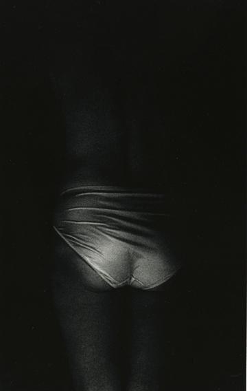 "Mother's Closet VI, 1990, gelatin silver print, 46 x 30"""