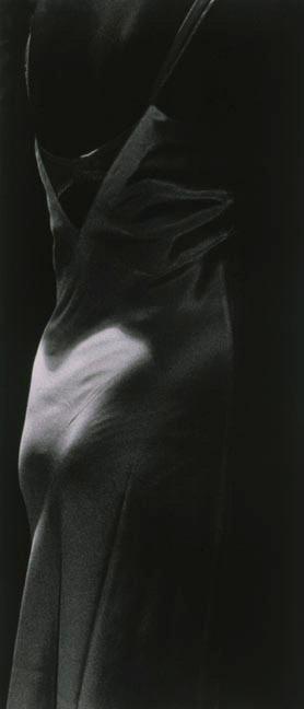 "Mother's Closet I, 1989, gelatin silver print, 50 x 24"""