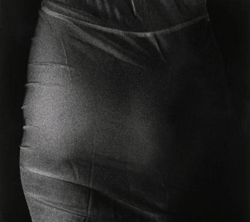 "Mother's Closet V, 1989, gelatin silver print, 18 x 18.5"""