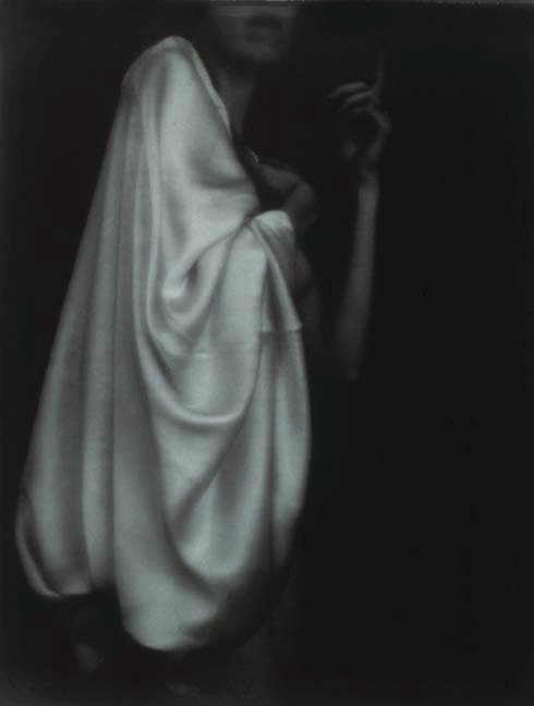 Annunciation/Angel, 1991, gelatin silver print, 45 x 38""