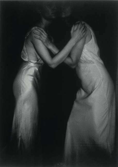 "The Visitation, 1992, gelatin silver print, 50 x 42"""