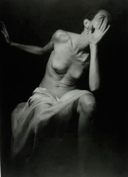 """Susannah, 1992, gelatin silver print, 48.5 x 40"""""""
