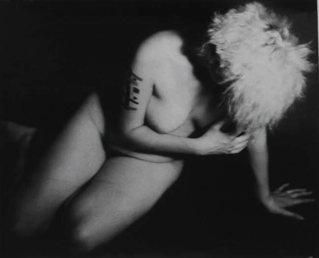 "The Penitent Magdalene, 1992, gelatin silver print, 36 x 39"""