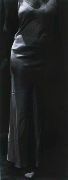 "Mother's Closet III, 1989, gelatin silver print, 58 x 24"""