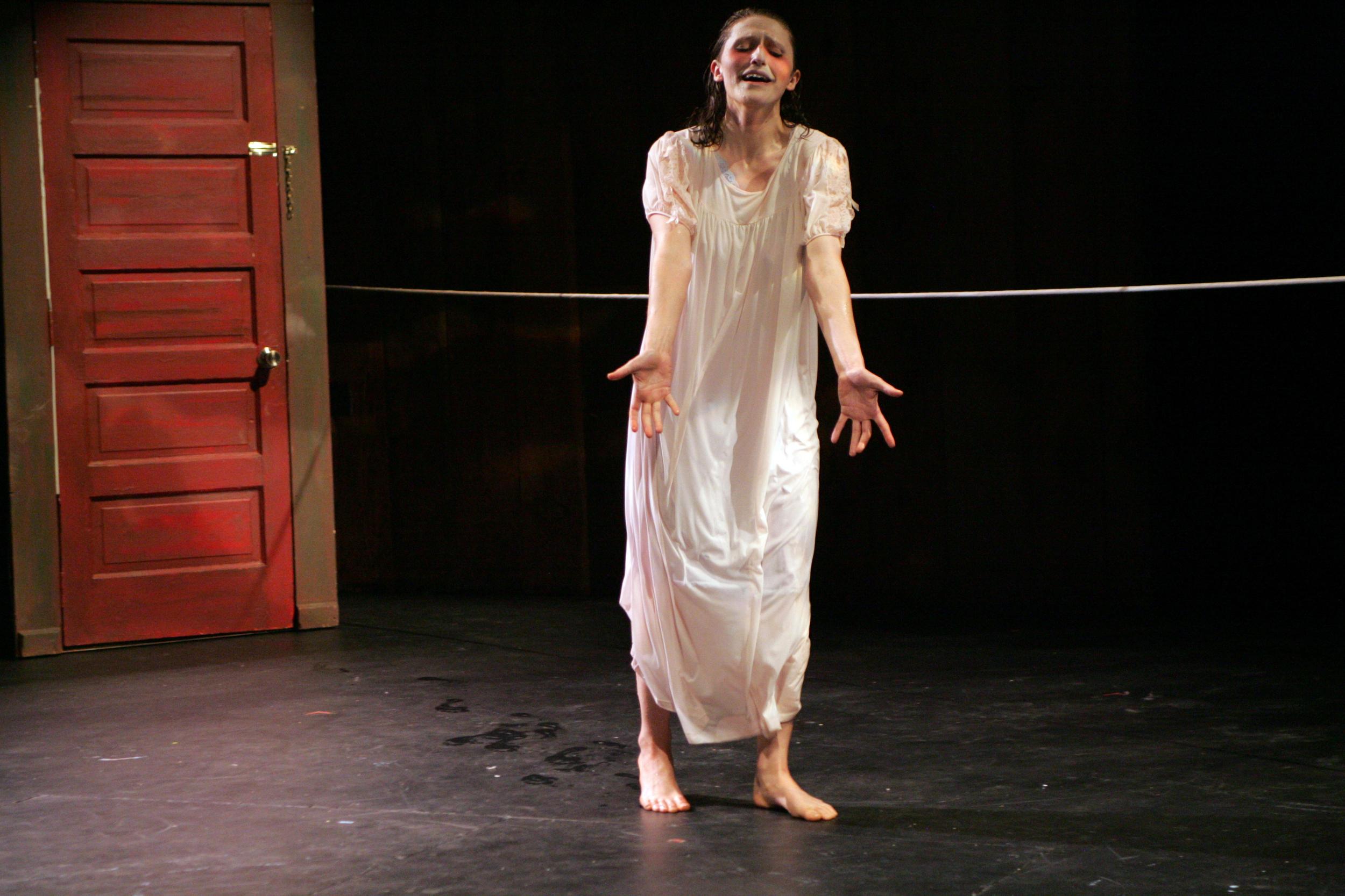 """Ruxy as Miranda in """"Through the Seams"""""""