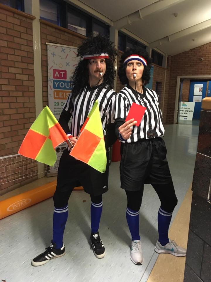 The Refs at At Your Leisure Open Day in Musselburgh