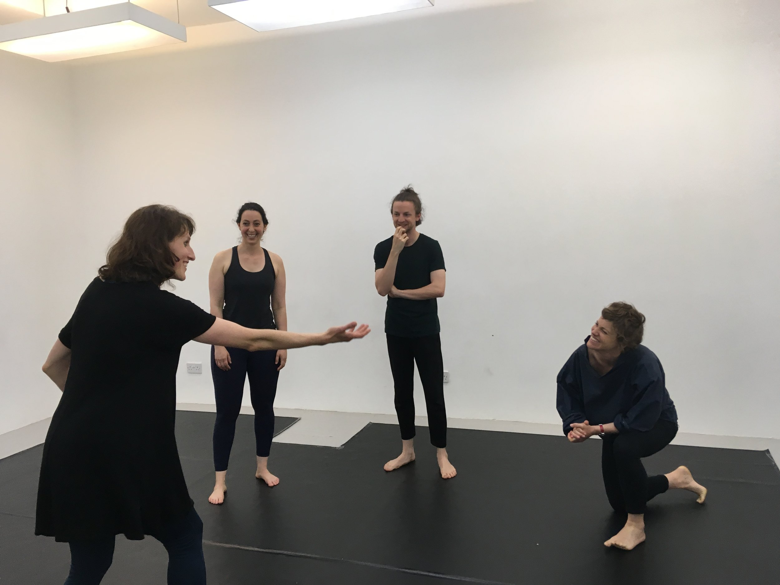 Workshop Sharing of the Michael Chekhov Technique  in Glasgow