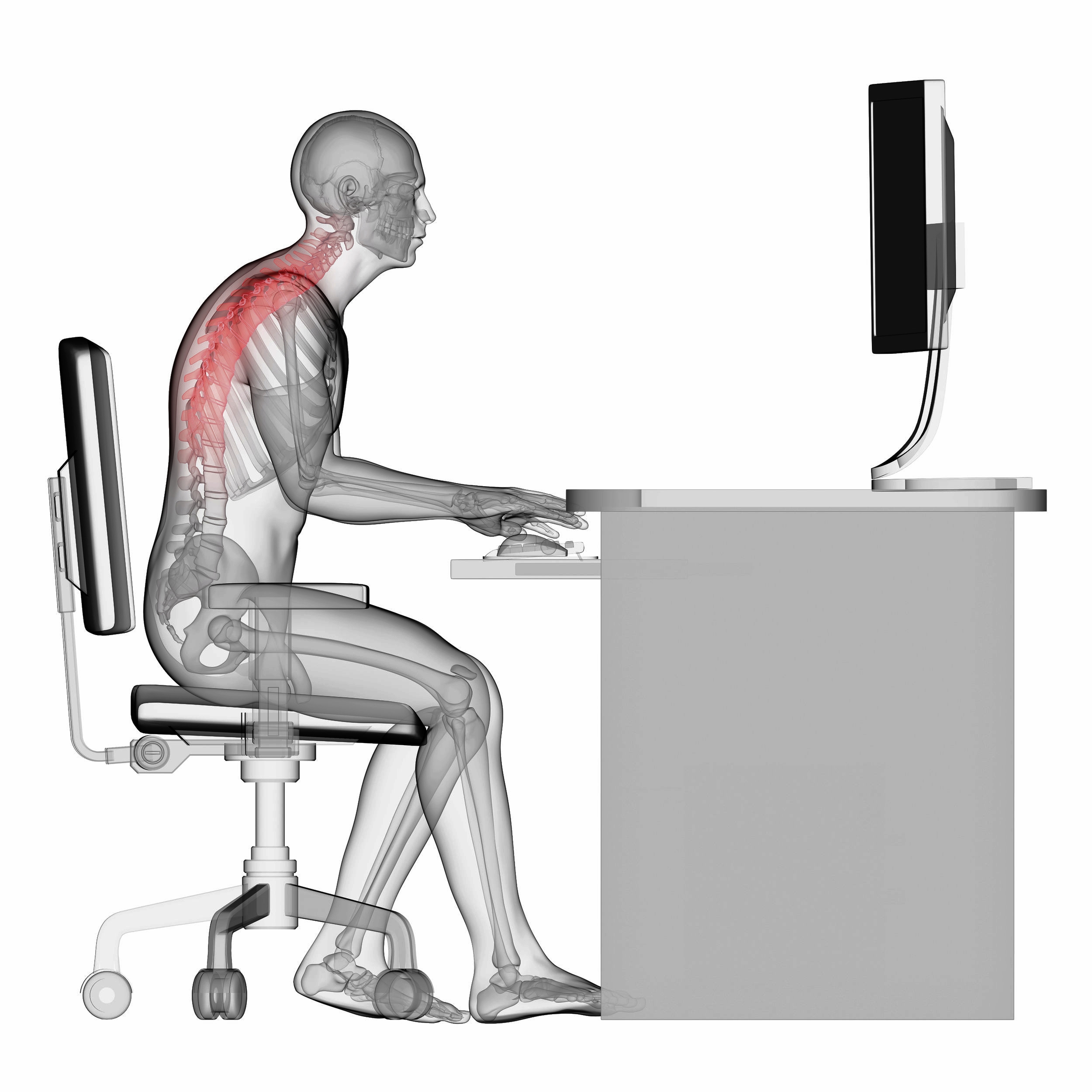 The average Brit spends 9 hours each day sitting -                              That's a big problem.